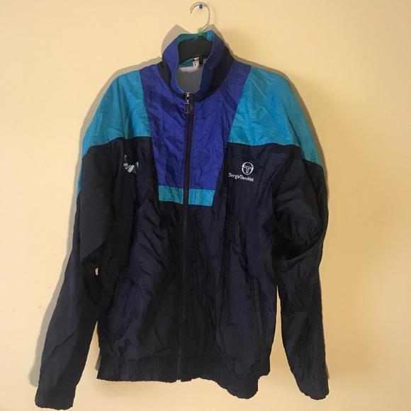 aea3ecdcb5 Sergio Tacchini Jackets & Coats | Vintage Tracksuit Top | Poshmark